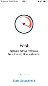 Регистрация Телеграмм для IPhone 1