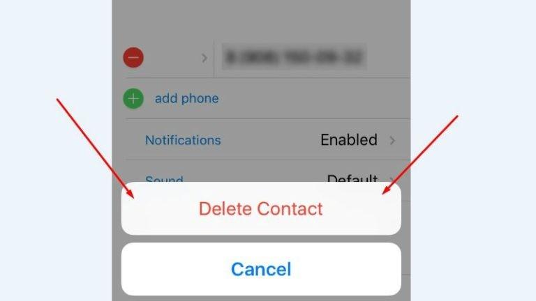 Как удалить контакт в Telegram – подробности и нюансы